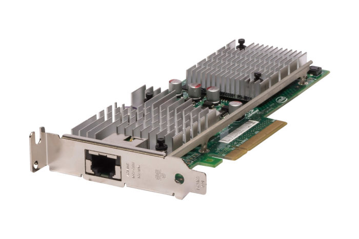 Intel AT2 10Gb Single Port Low Profile Network Card - E10G41AT2 - Ref