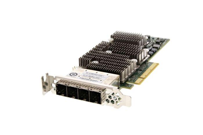 Dell LSI SAS 9206-16e 6Gb Quad Port Low Profile HBA - 1V1W2 - Ref