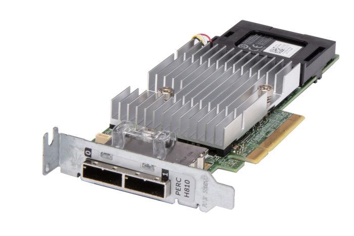 Dell PERC H810 RAID Controller w/1GB Non Volatile Cache Low Profile VV648