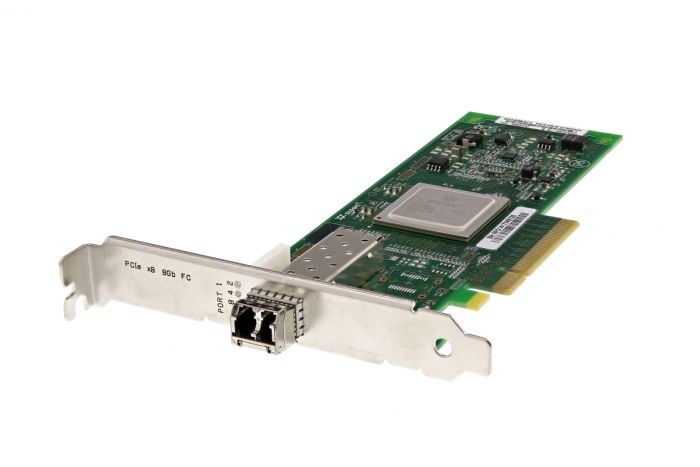 QLogic QLE2560 8Gb SFP+ Single Port Full Height Fibre HBA - Ref