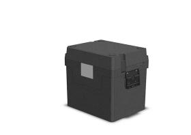 Ruuankuljetuslaatikko EPP GN 1/2 kahvoilla
