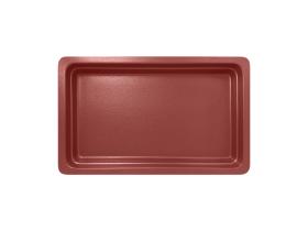 GN-vati tummanpunainen 1/1 53x32,5x6,5 cm