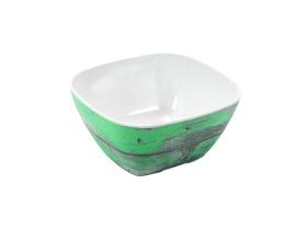 Tarjoilukulho melamiini puukuvio/vihreä GN 1/6