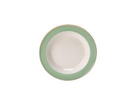 Lautanen syvä vihreä Ø 21,5 cm