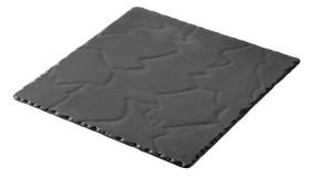 Tarjoiluvati musta 25x25x0,7 cm