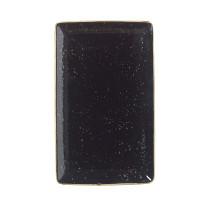 Lautanen suorakaide musta 27x16,75 cm