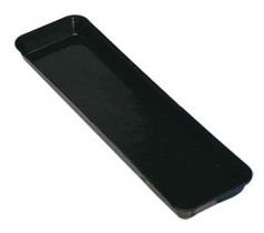 Lasikkotarjotin musta 22x45,7 cm