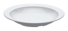 Lautanen syvä valkoinen Ø 24 cm