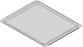 Paistopelti 429 x 345 x 9 mm, alumiinia