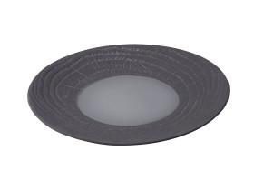 Lautanen musta Ø 28 cm