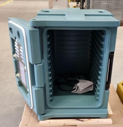 Ruoankuljetuslaatikko Heated Ultra, Käytetty