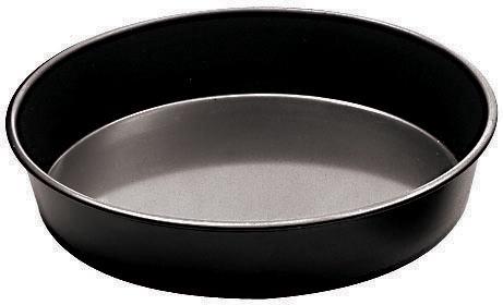 Pannupizzavuoka musta pelti K 3,5 cm Ø 36 cm