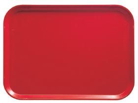 Tarjotin punainen 33x43 cm