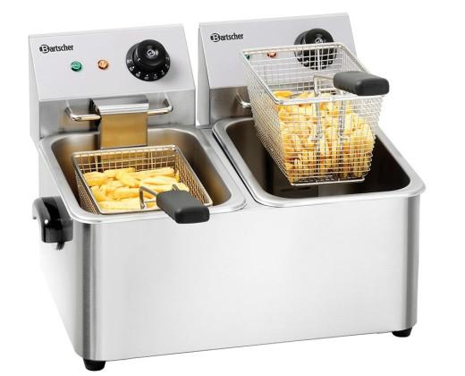 """Rasvakeitin """"Snack II"""", 2 x 4l, 2,0 kW Bartscher"""