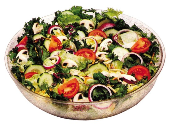 Salaattikulho kirkas 37,8 L