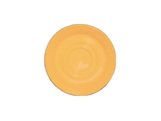 Aluslautanen keltainen Ø 14,5 cm
