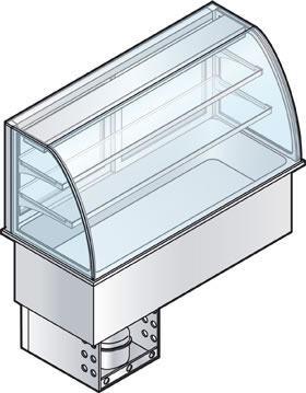 Kylmälasikko Drop-In