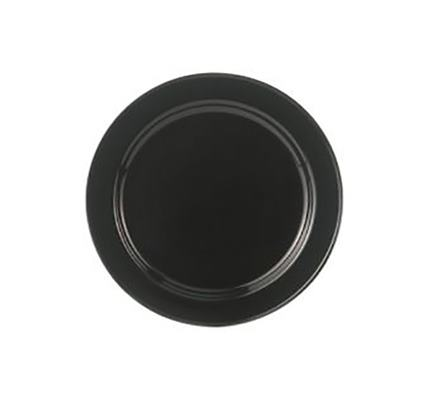 Aluslautanen musta Ø 14,5 cm