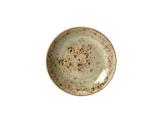 Lautanen syvä vihreä Ø 20,5 cm