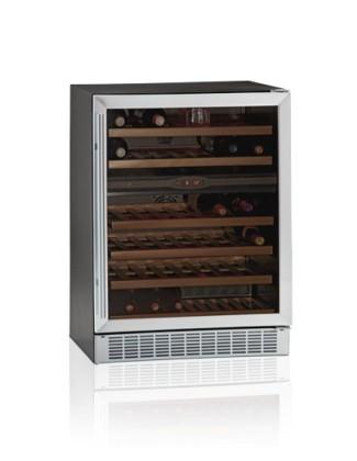 Lasiovellinen viinikaappi TFW160-2S
