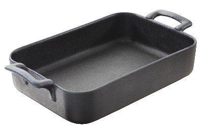 Vuoka musta 34x25x6,5 cm 3,5 L