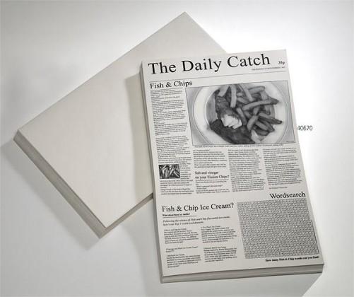 "Käärepaperi ""sanomalehti"" 42x27 cm 500 kpl/pkt"