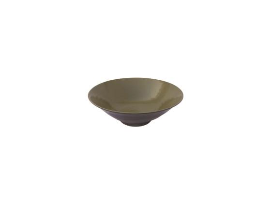 Kulho melamiini oliivinvihreä Ø 24,8 cm 118 cl