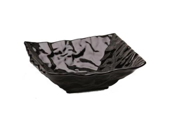 Neliökulho melamiini musta 30,5x30,5 cm 2,84 L