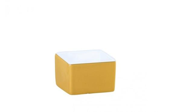 Neliökulho keltainen 51x51x35 mm