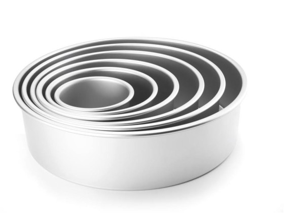 Pohjavuoka alumiini K 10 cm Ø 25 cm