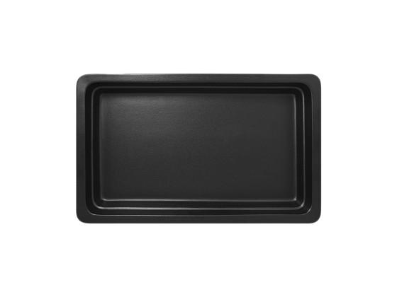 GN-vati musta 1/1 53x32,5x6,5 cm