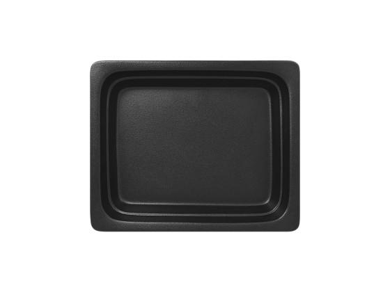 GN-vati musta 1/2 32,5x26,5x6,5 cm