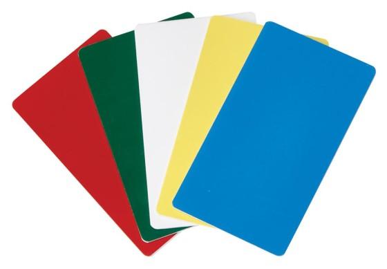 Merkintäkortti värilajitelma 5-osainen