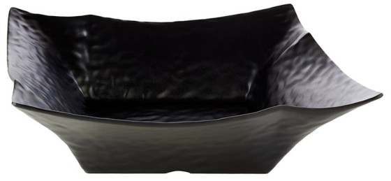 Neliökulho melamiini musta 36x36 cm 3,5 L