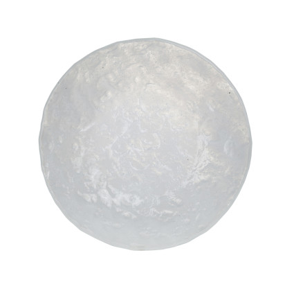 Lasikulho valkoinen Ø 17,14 cm