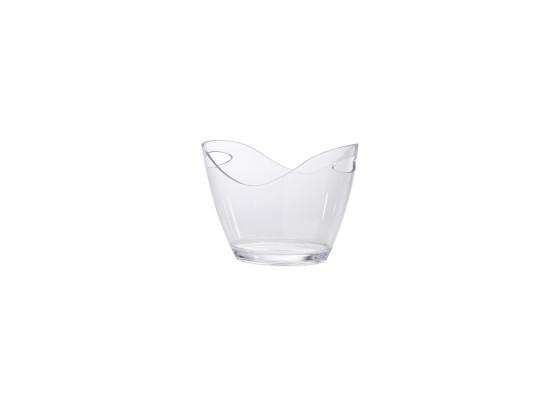 Viininjäähdytin kirkas akryyli 27x20,4x19,4 cm 3 L