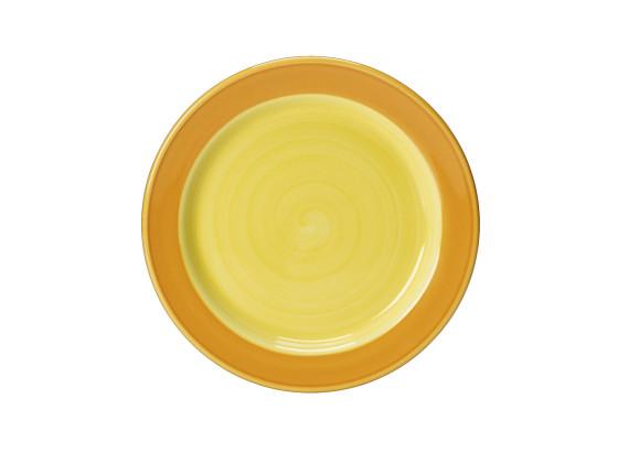 Lautanen keltainen Ø 15,75 cm