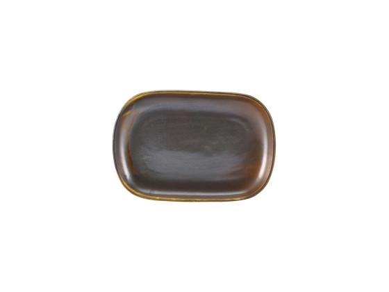 Lautanen suorakaide kupari 24x16,5 cm