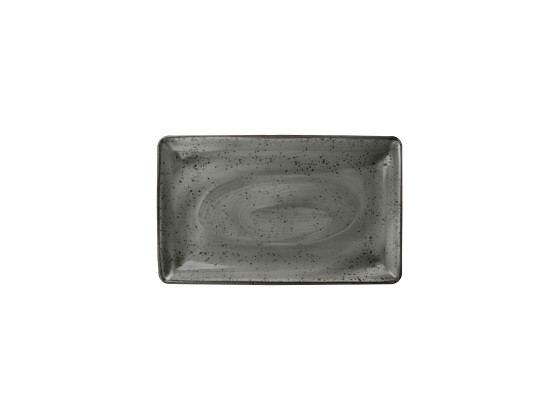 Lautanen suorakaide harmaa 27x16,75 cm