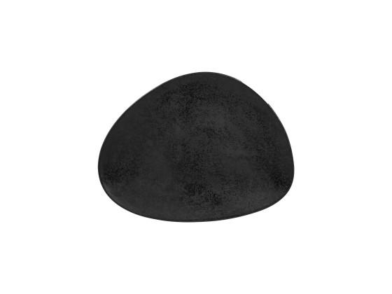 Lautanen musta 33x25 cm