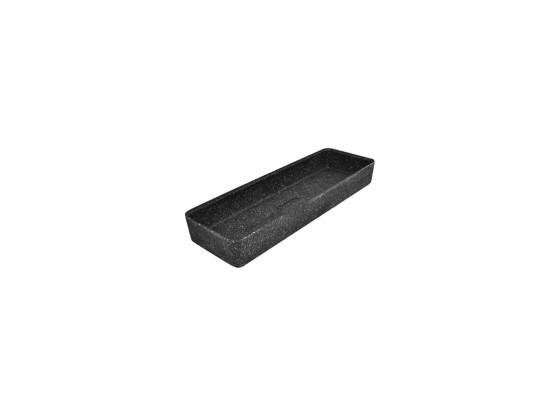Kulho melamiini musta 175x520x70 mm 4,2 L