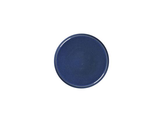 Lautanen reunaton sininenØ 28 cm