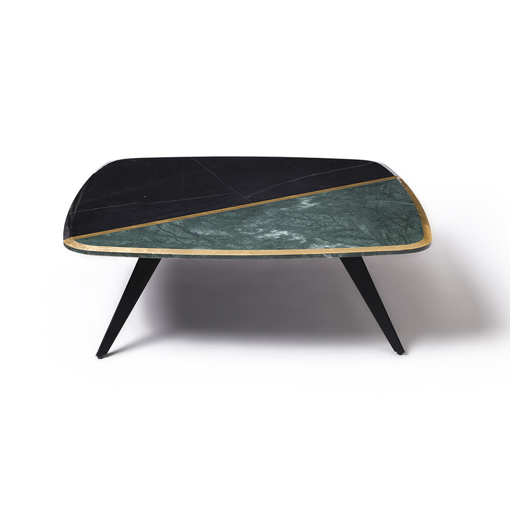 - Black And Green Marble Distortion Table