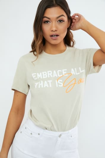 STONE EMBRACE ALL THAT IS YOU T SHIRT