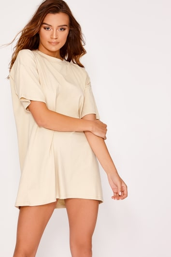 CYNDI STONE BASIC OVERSIZED T SHIRT