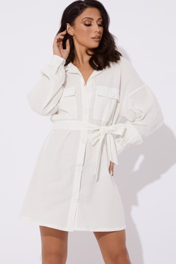 Shirt Dresses Long Sleeve Blouse Dresses In The Style