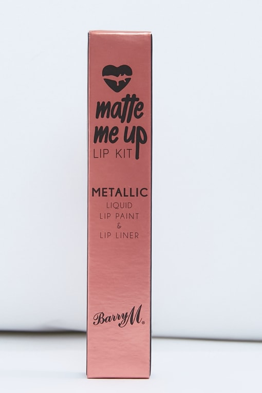 BARRY M 24 CARAT MATTE METALLIC LIP KIT