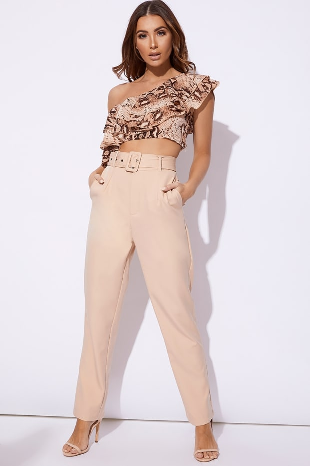680b201b7c8 IN THE STYLE. BILLIE FAIERS NUDE SNAKE PRINT ...