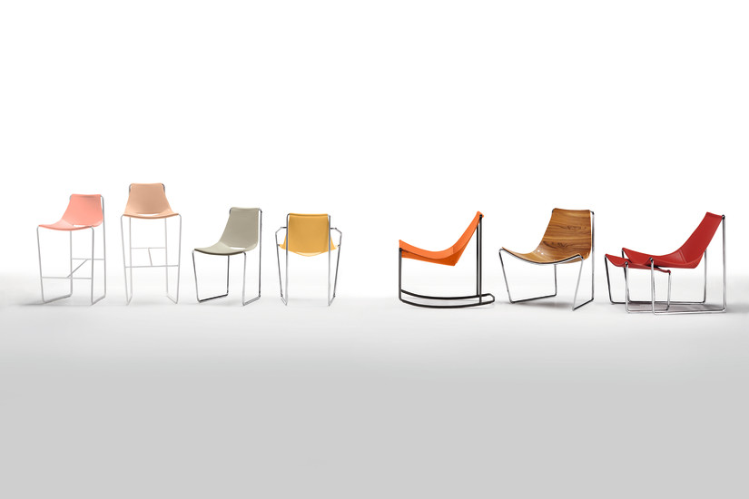 Apelle DN: Rocking chair available in different colours