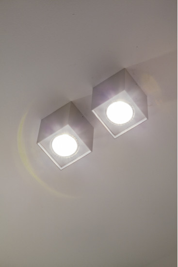 6050: Ceiling light available in different colours